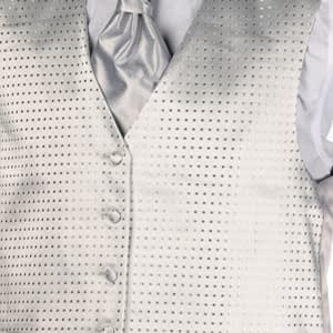 Silver Dot Waistcoat