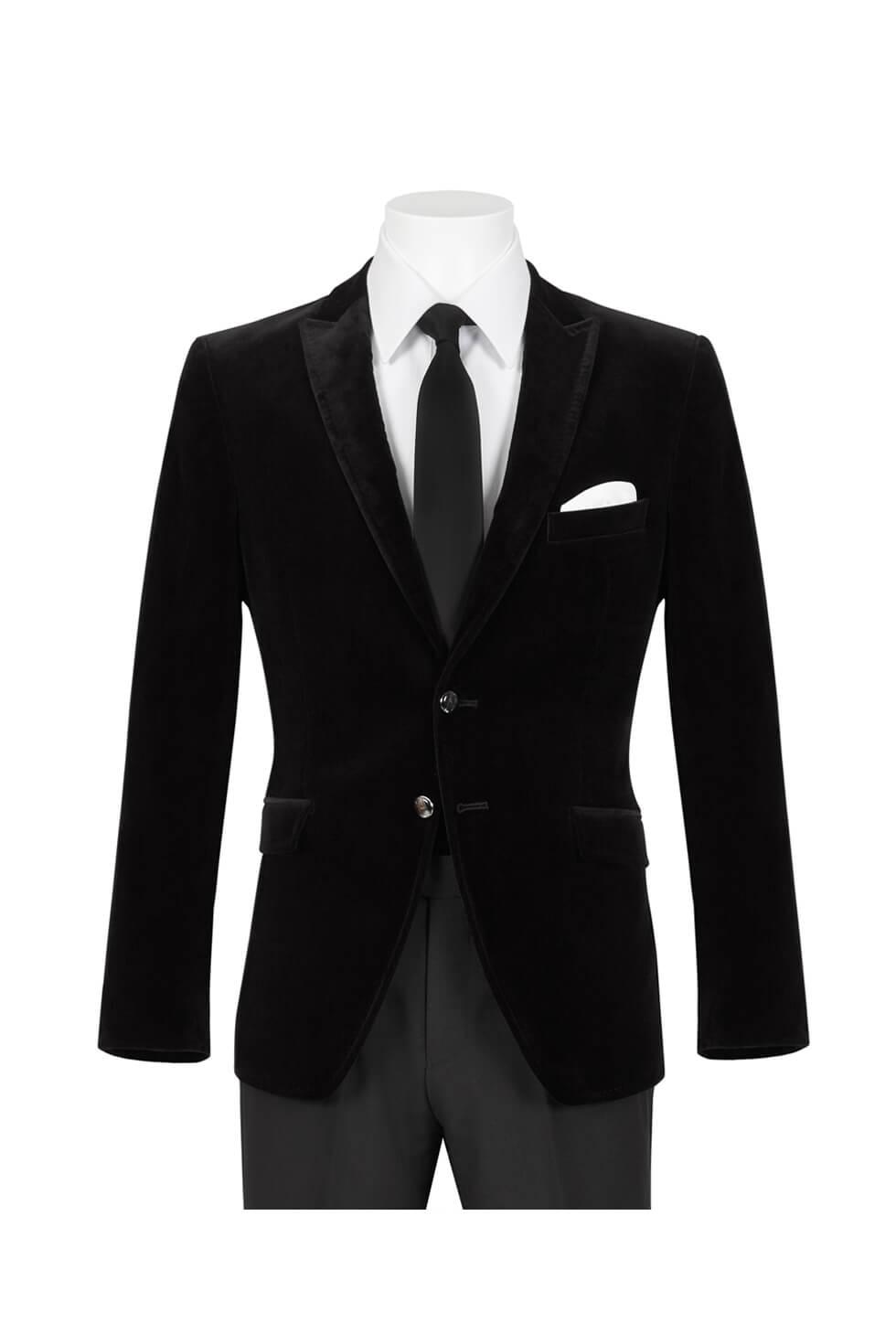 Black Velvet Dinner Jacket