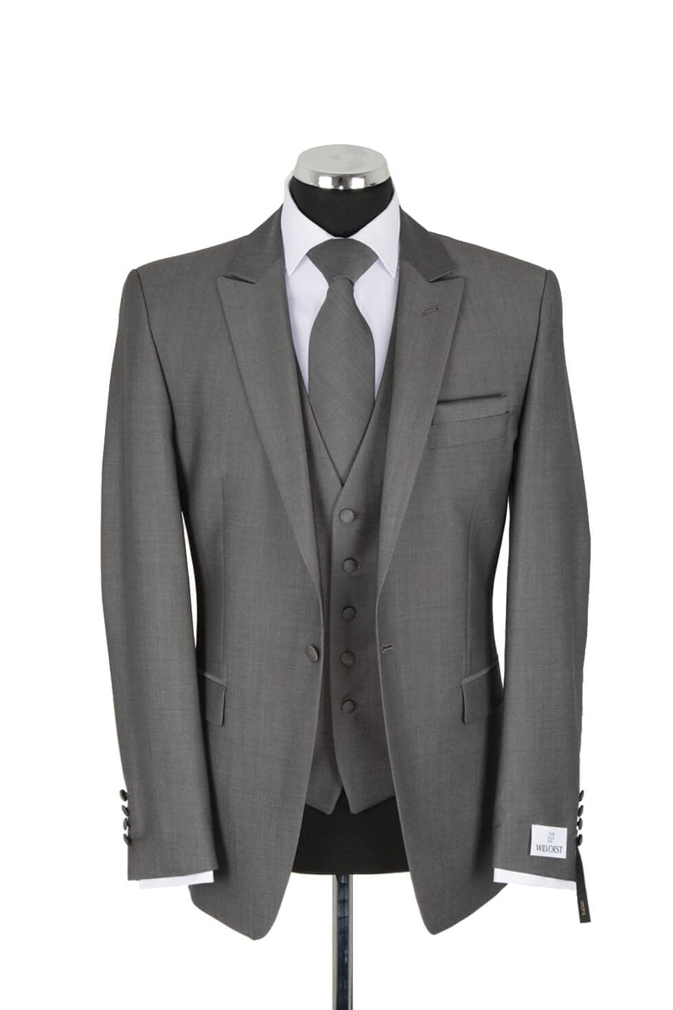 Wilvorst Three Piece Grey Lounge Suit
