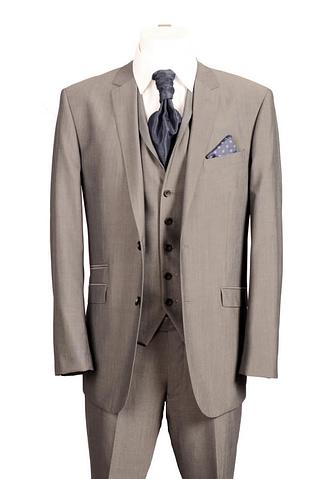 Grey Egan Three Piece Suit