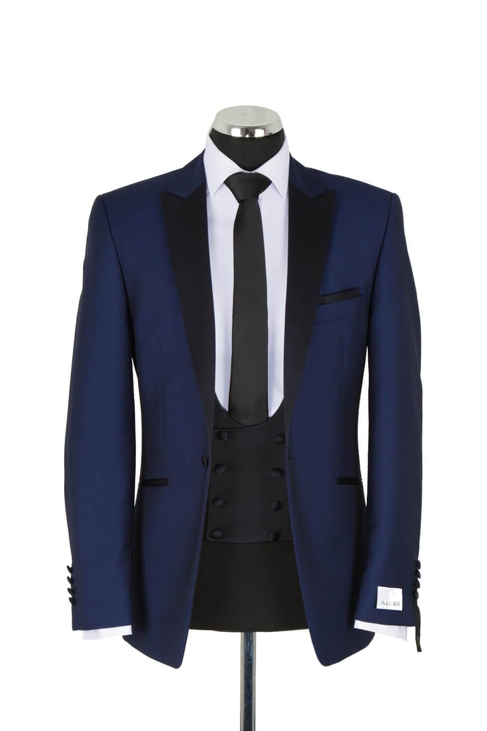 Wilvorst Royal Blue Evening Suit