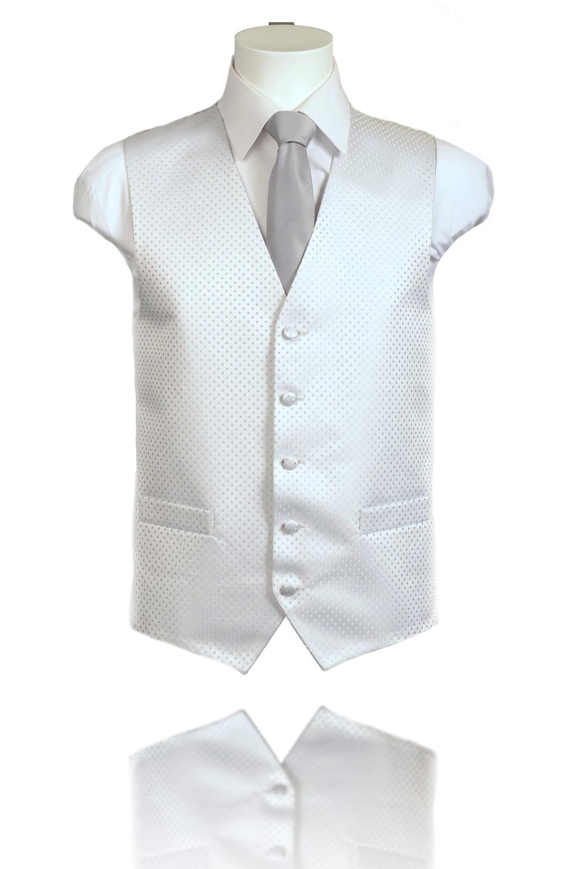Silver Deluxe Waistcoat