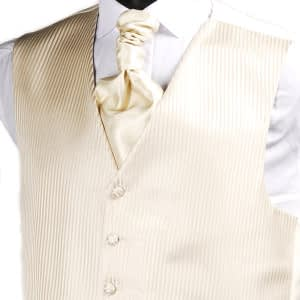 Champagne Stripe Waistcoat