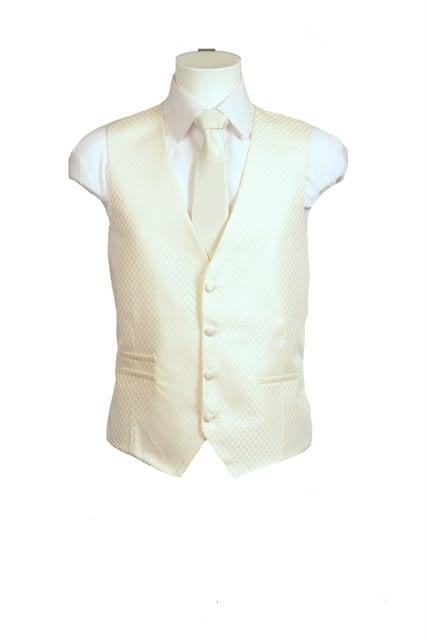 Ivory Deluxe Waistcoat