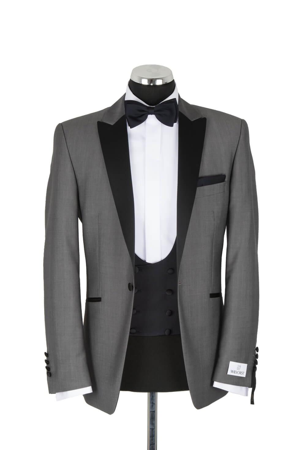 Wilvorst Grey Evening Suit