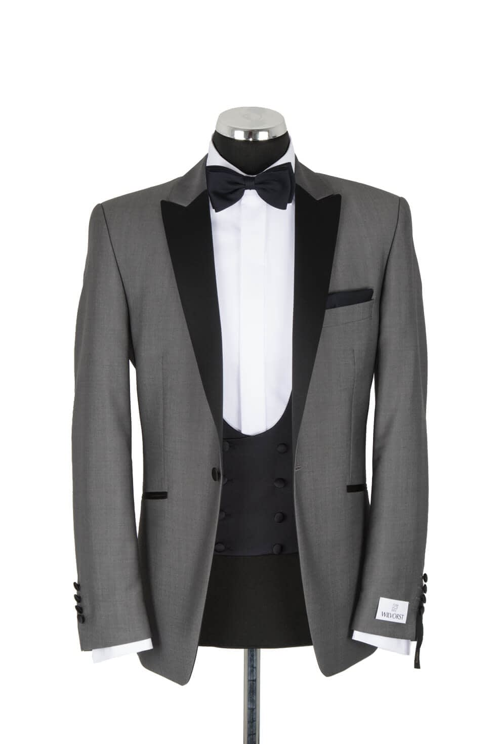 Wilvorst Grey Evening Suit