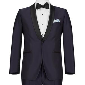 Skyfall Midnight Blue Shawl Lapel Tuxedo