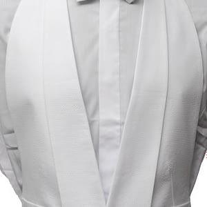 Marcella White Waistcoat