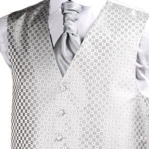 Silver Genoa Waistcoat
