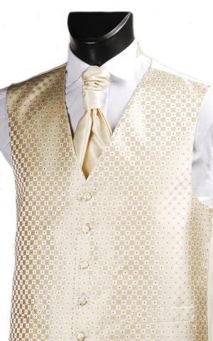 Gold Genoa Waistcoat