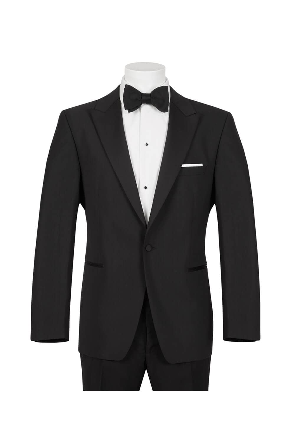 Scott One Button Peak Lapel Tuxedo