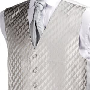 Platinum Diamond Waistcoast