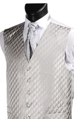 Platinum Diamond Waistcoast