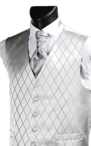 Silver Cross Waistcoat