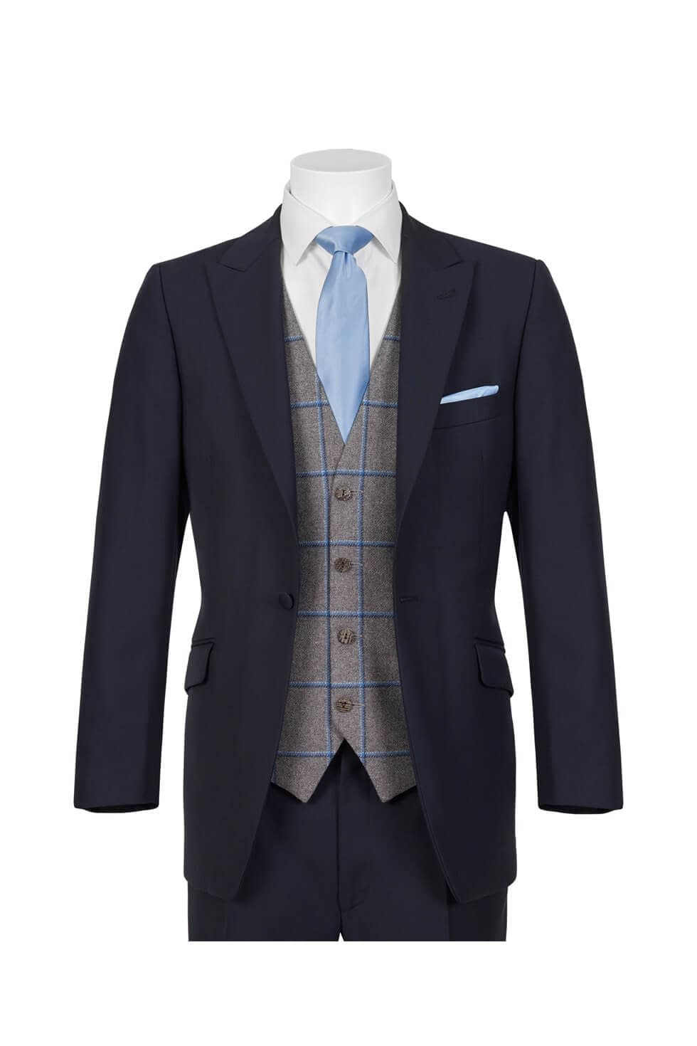 Wilvorst Navy Lounge Suit