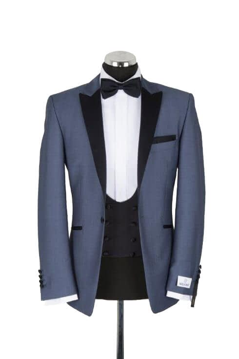 Wilvorst Ice Blue Evening Suit