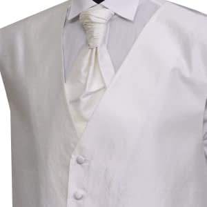 Ivory Silk Waistcoat